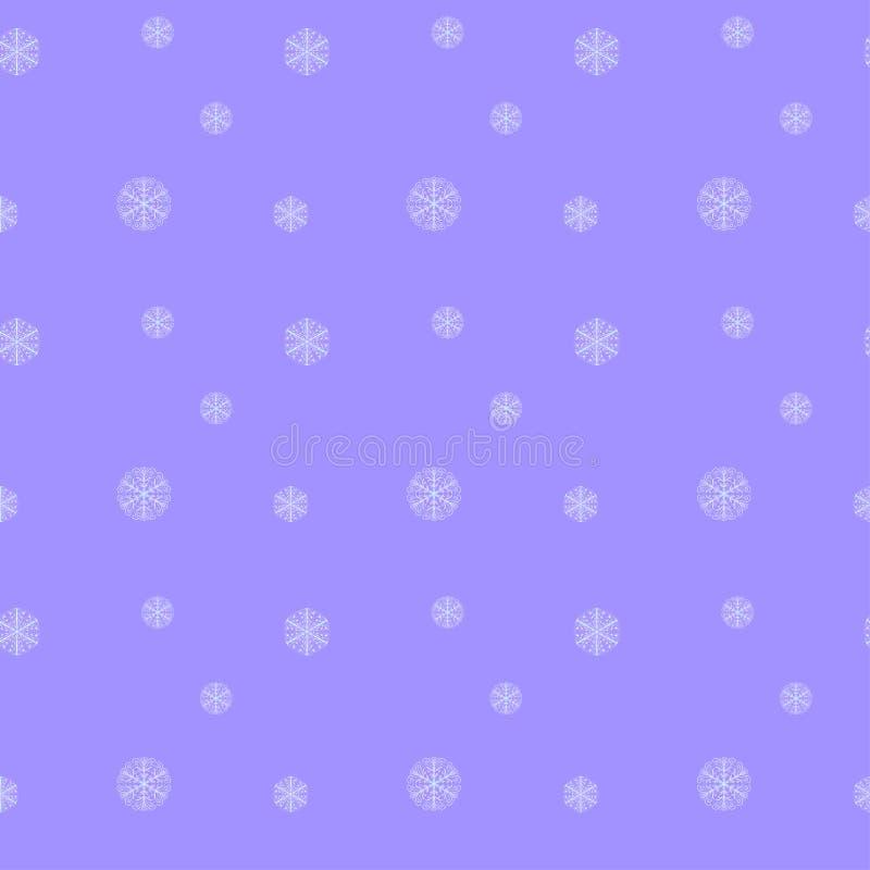 Modèle sans couture d'hiver pour le fond, papier peint, tissu, emballage illustration libre de droits