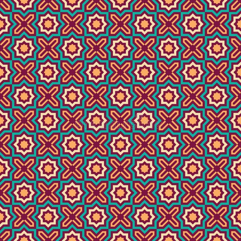 Modèle sans couture d'octogone illustration de vecteur
