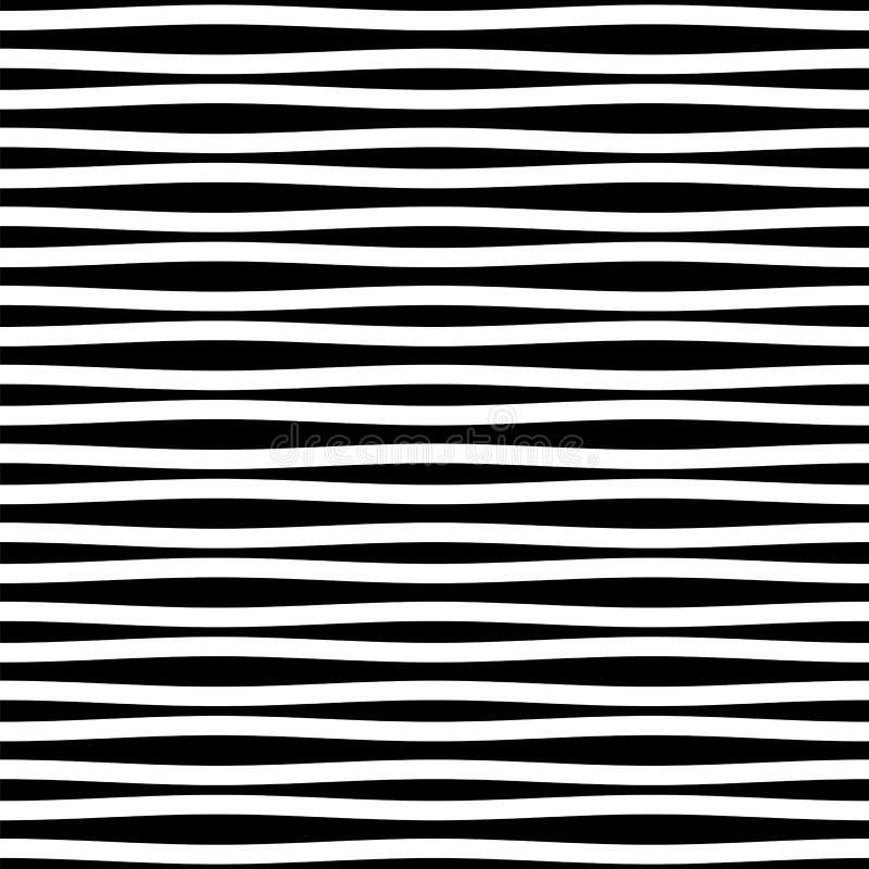 Modèle sans couture d'ondulation illustration de vecteur