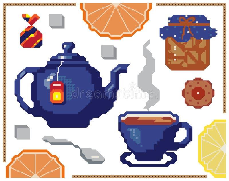 Modèle sans couture d'orange et de citron de vecteur Conception de fond pour le jus, thé, boulangerie Meilleur pour le tissu, tex illustration libre de droits