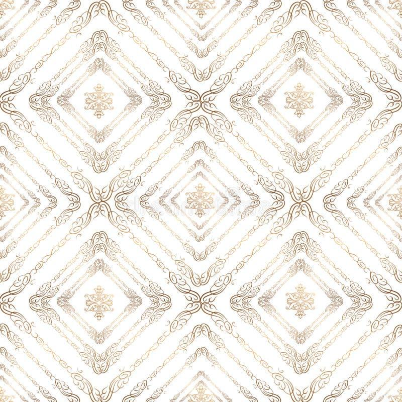 Modèle sans couture dans le rétro modèle Ba texturisé abstrait illustration de vecteur