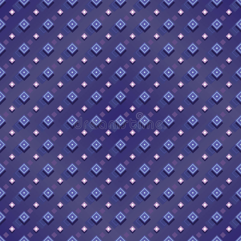 Modèle sans couture de baisse de forme de diamant illustration de vecteur