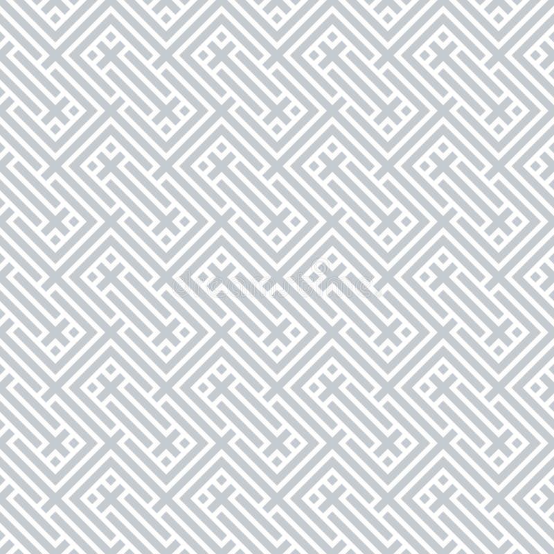 Modèle sans couture de Chevron de vecteur illustration de vecteur