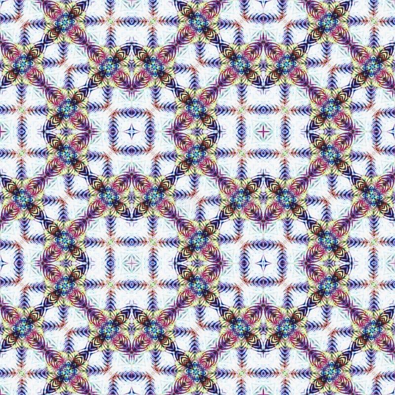 Modèle sans couture de colorant de lien de fond image stock