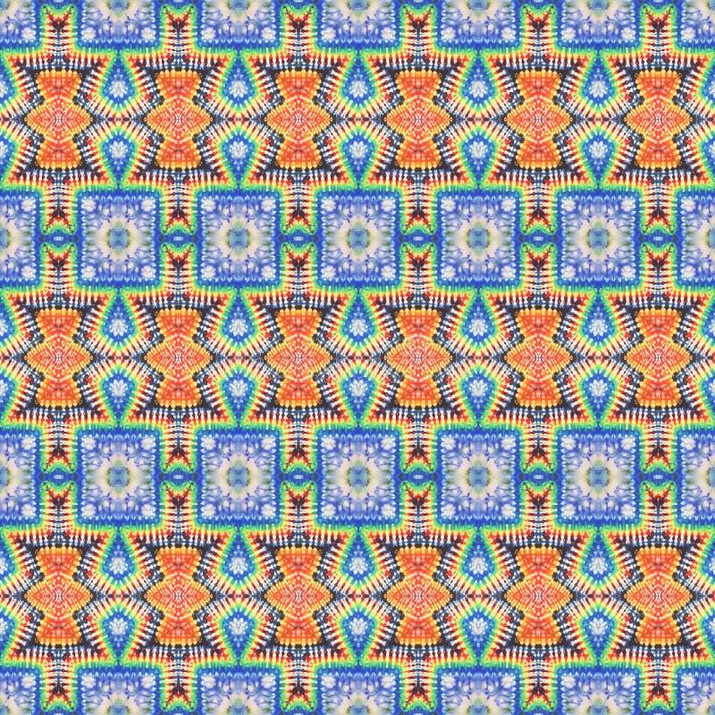 Modèle sans couture de colorant de lien de fond illustration de vecteur