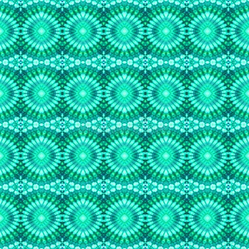 Modèle sans couture de colorant de lien de fond combiné photo libre de droits