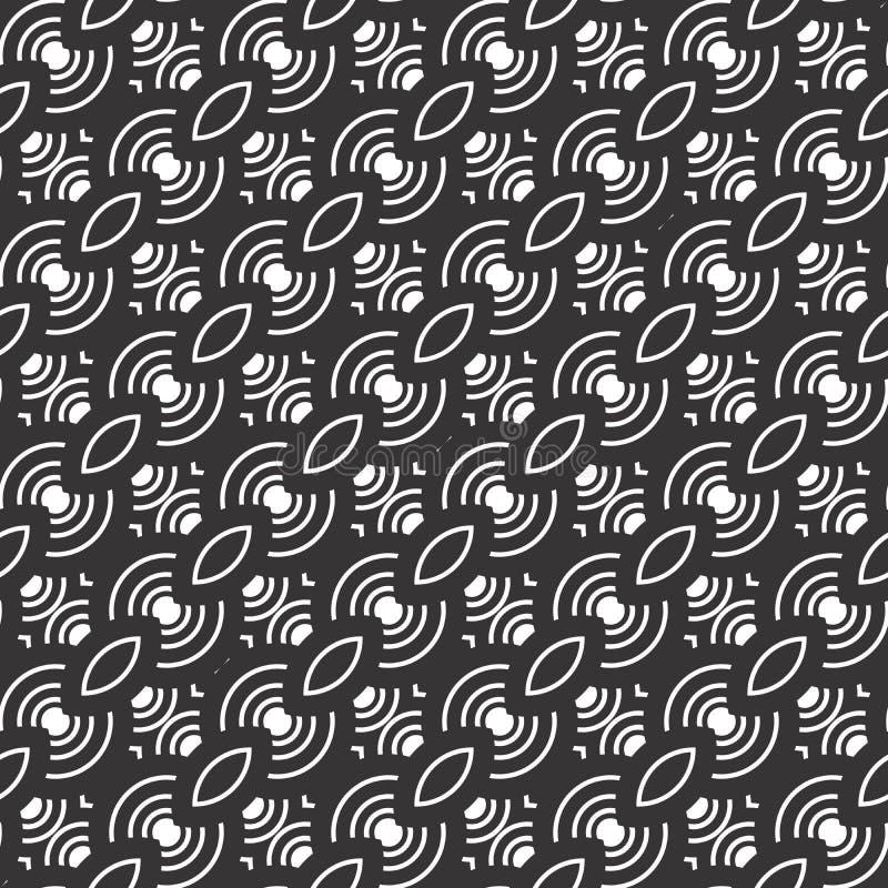 Modèle sans couture de conception de motif abstrait illustration libre de droits