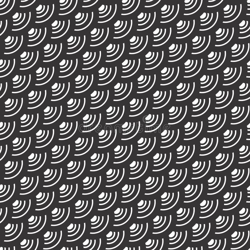 Modèle sans couture de conception de motif abstrait illustration de vecteur