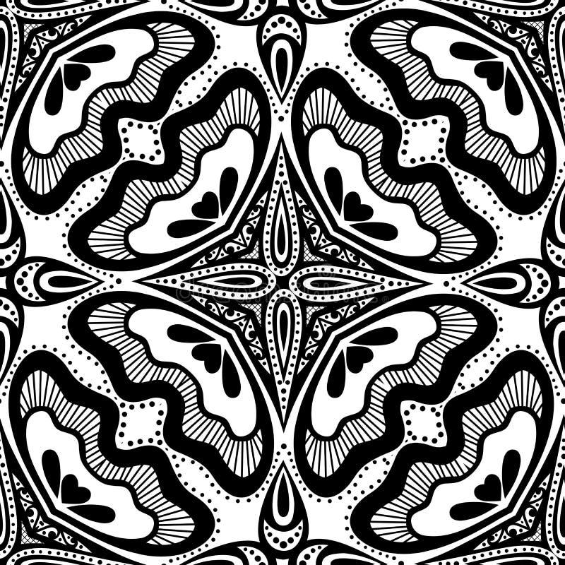 Download Modèle Sans Couture De Dentelle De Vintage (vecteur) Illustration de Vecteur - Illustration du kaléidoscope, conception: 56481685