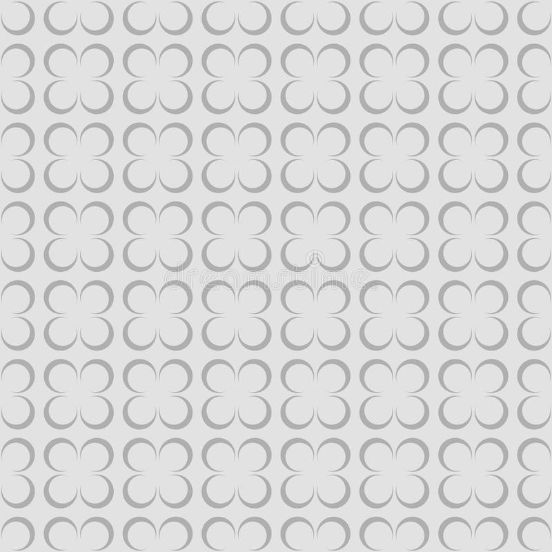 Modèle sans couture de fleur géométrique pour la dispersion Vecteur illustration stock