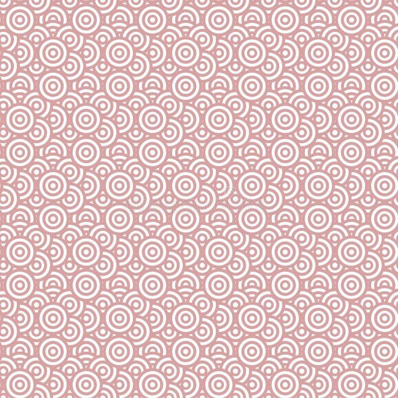 Download Modèle Sans Couture De La Géométrie Avec Les Cercles Concentriques Illustration de Vecteur - Illustration du ornement, configuration: 77158517