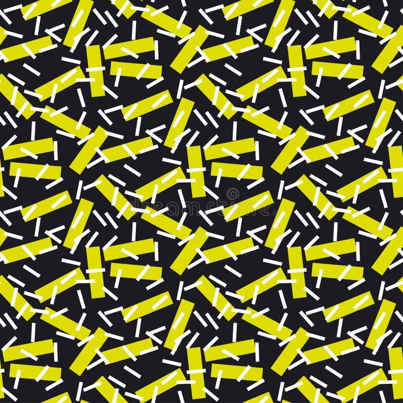 Modèle sans couture de la géométrie moderne illustration libre de droits