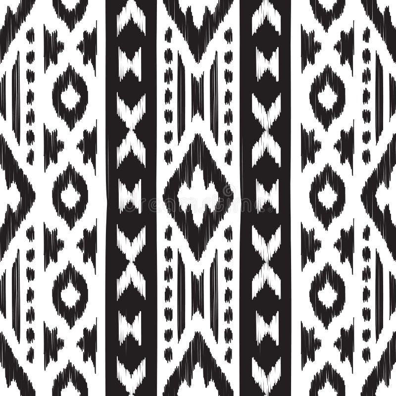 modèle sans couture de Navajo illustration libre de droits