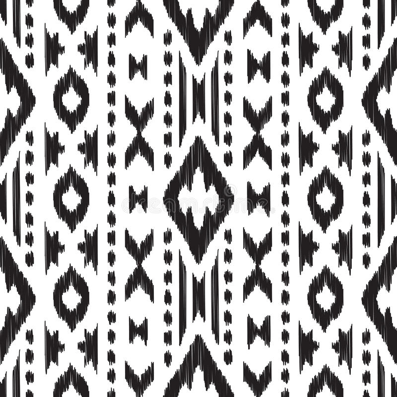 modèle sans couture de Navajo illustration stock