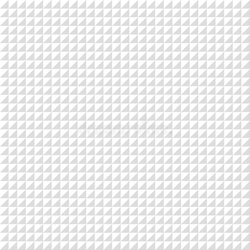 Modèle sans couture de pixel de vecteur Fond géométrique de gamme de gris illustration stock