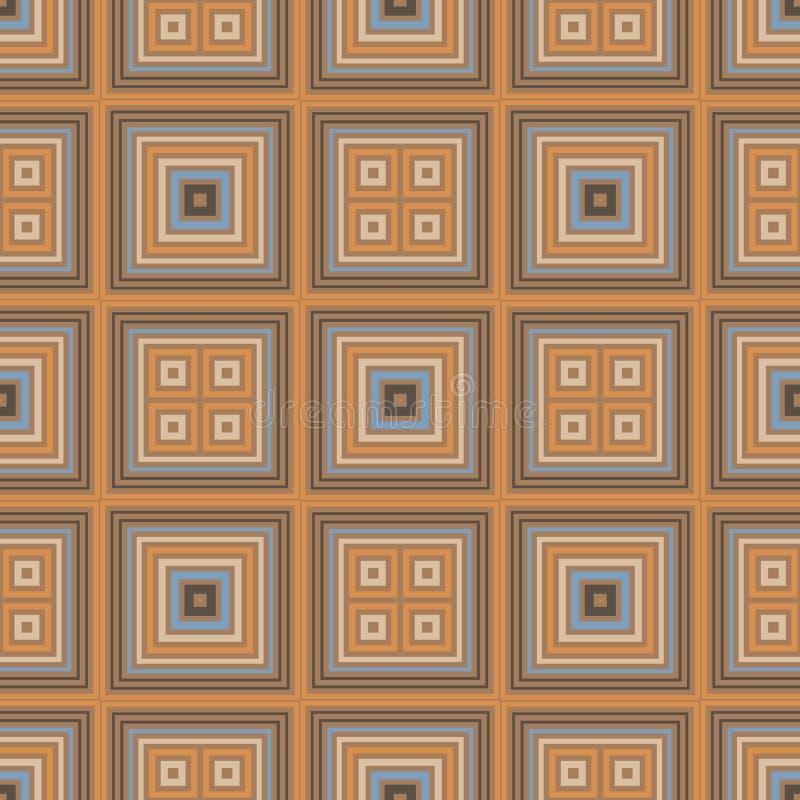 Modèle sans couture de places vibrantes illustration de vecteur