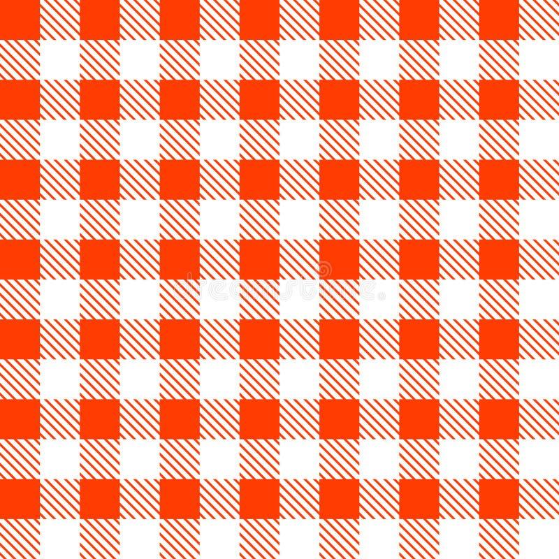 Modèle sans couture de plaid de tartan illustration de vecteur