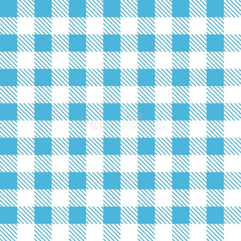 Modèle sans couture de plaid de tartan illustration libre de droits