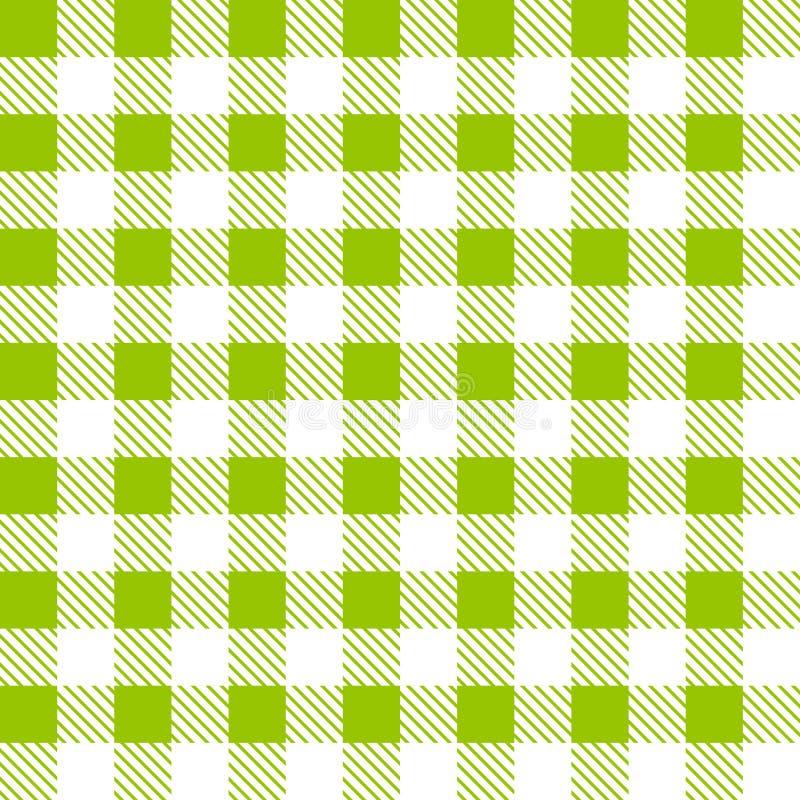 Modèle sans couture de plaid de tartan illustration stock