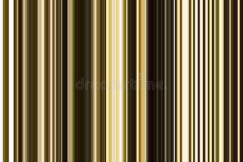 Modèle sans couture de rayures de vert olive Fond abstrait d'illustration Couleurs modernes élégantes de tendance illustration de vecteur