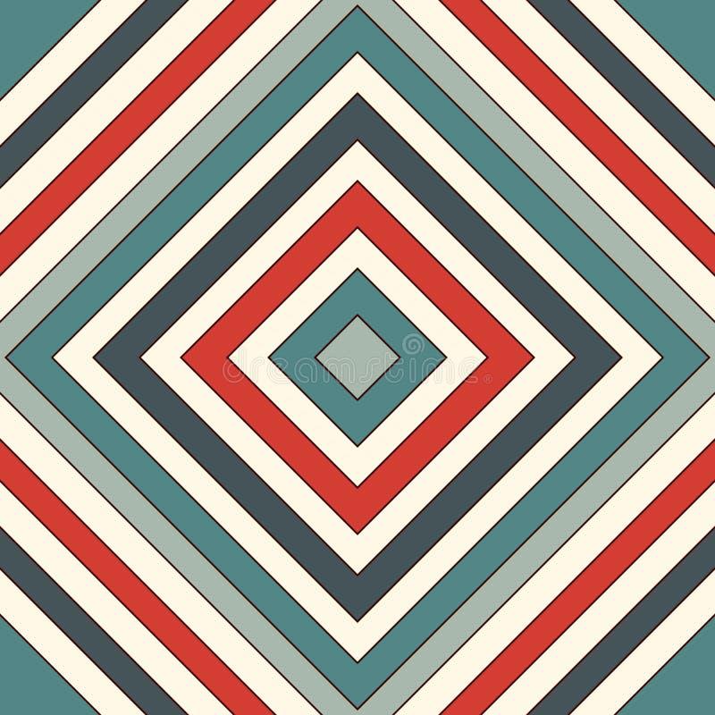 Modèle sans couture de style ethnique Fond abstrait de natifs américains Motif tribal Papier numérique chic de Boho illustration stock