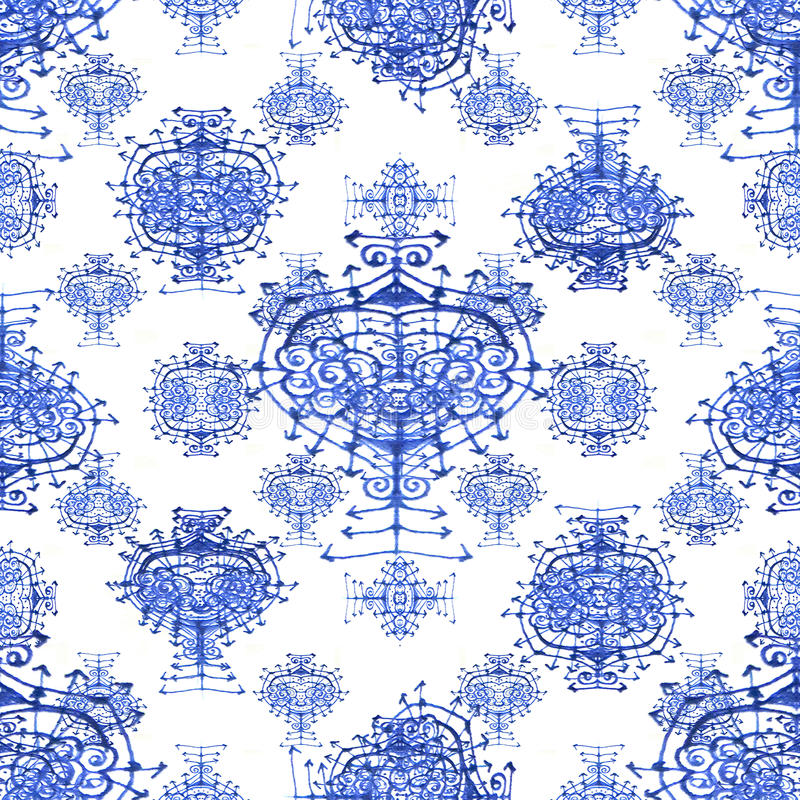 Download Modèle Sans Couture De Symboles Ethniques Illustration Stock - Illustration du symboles, type: 77150914