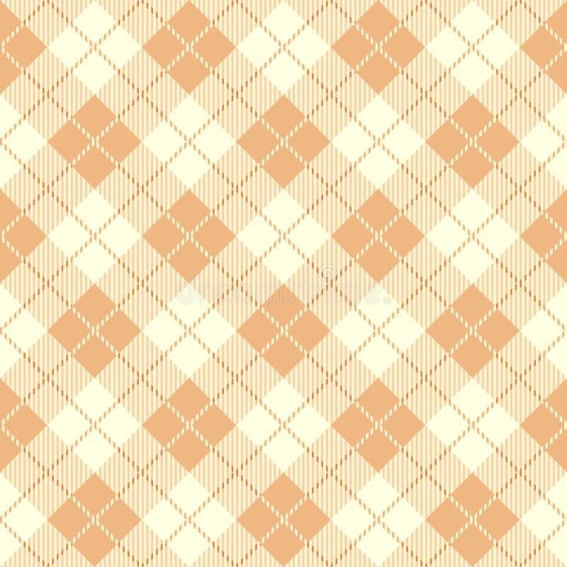 Modèle sans couture de tartan illustration stock