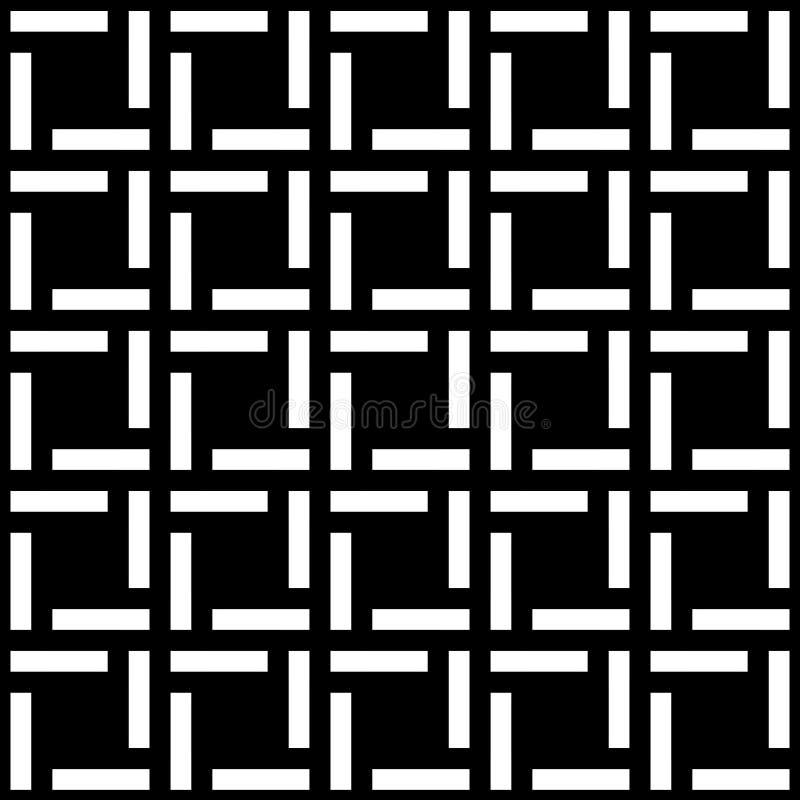 Modèle sans couture de texture de boîtes carrées illustration libre de droits