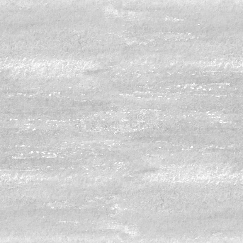 Modèle sans couture de texture grise tirée par la main d'aquarelle photo stock