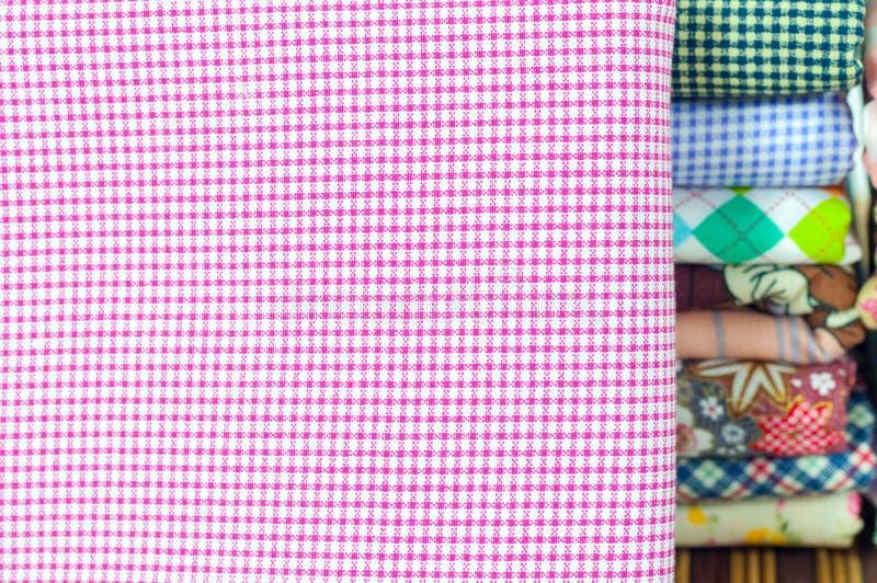 Modèle sans couture de tissu photographie stock libre de droits