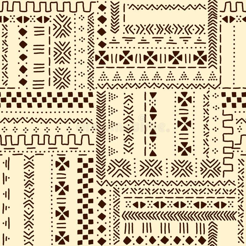 tissu africain beige