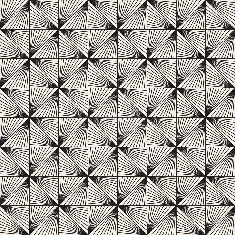 Modèle sans couture de trellis de vecteur Texture élégante moderne avec le treillis monochrome Répétition de la grille géométriqu photo stock