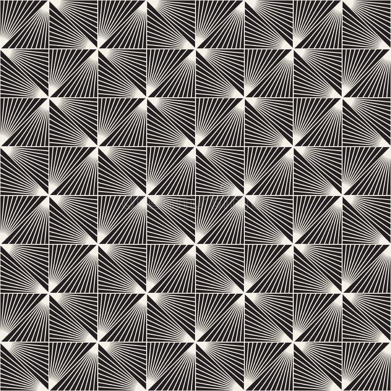 Modèle sans couture de trellis de vecteur Texture élégante moderne avec le treillis monochrome Répétition de la grille géométriqu images libres de droits