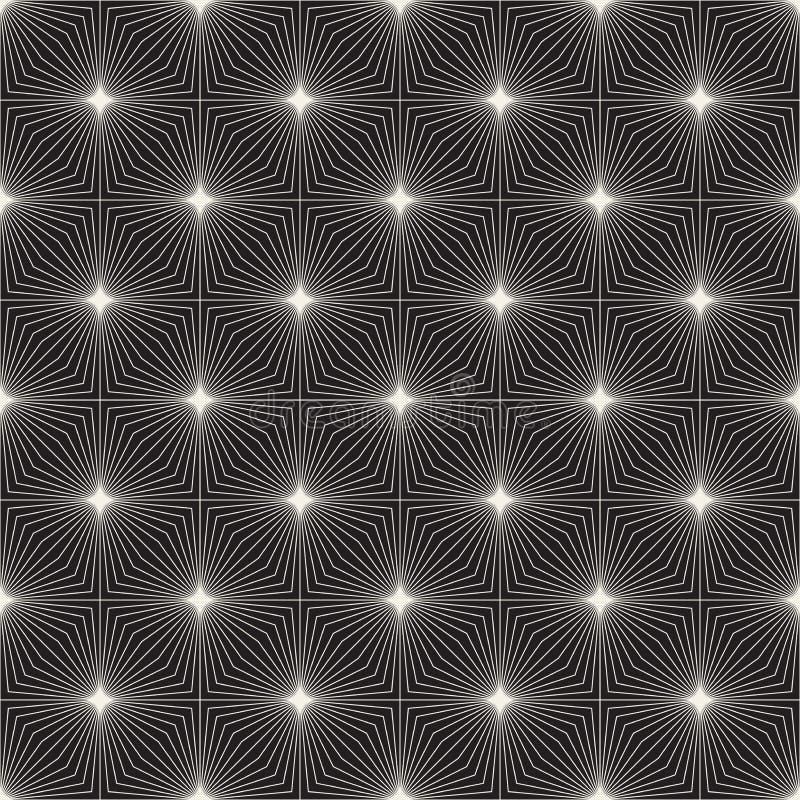 Modèle sans couture de trellis de vecteur Texture élégante moderne avec le treillis monochrome Répétition de la grille géométriqu photographie stock libre de droits