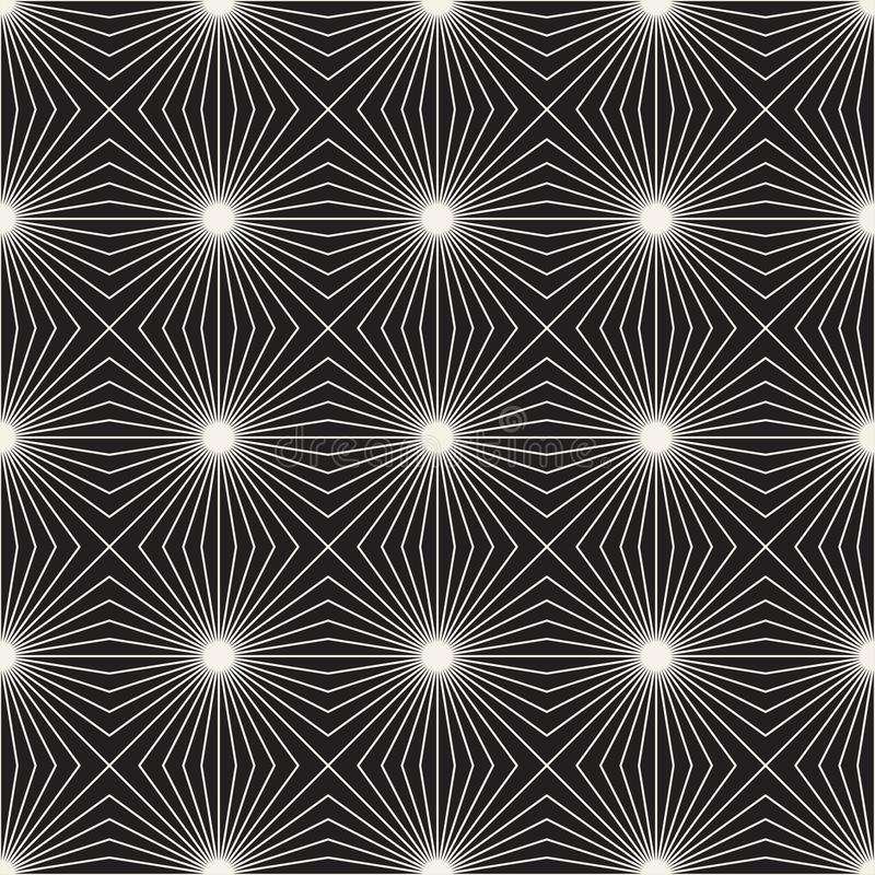 Modèle sans couture de trellis de vecteur Texture élégante moderne avec le treillis Répétition de la grille géométrique Fond simp photo stock