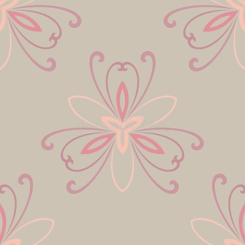Download Modèle Sans Couture De Vecteur De L'Orient Résumé Illustration de Vecteur - Illustration du floral, décoratif: 45371686