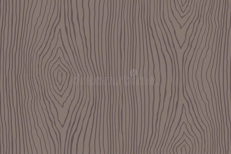 Modèle sans couture de vieille texture en bois illustration stock
