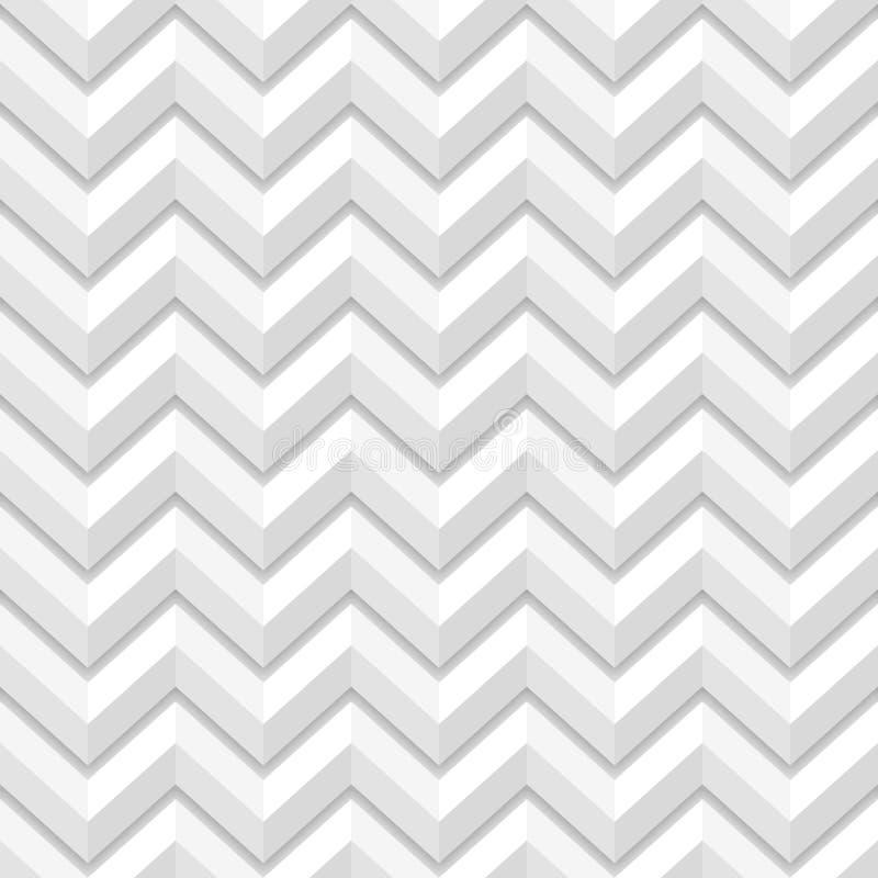Modèle sans couture de zigzag géométrique illustration de vecteur