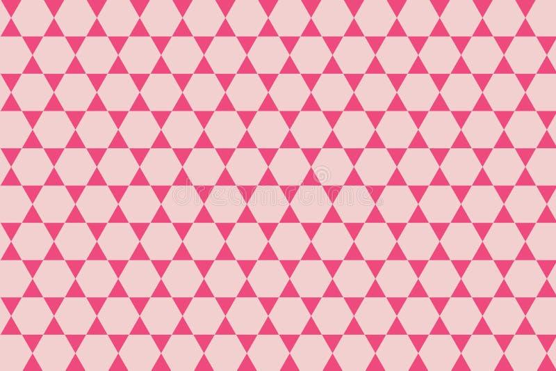 Modèle sans couture des cubes roses en couleur Conception d'illustration illustration de vecteur