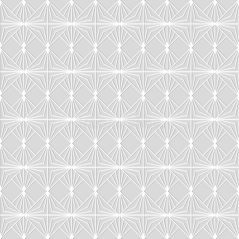 Modèle sans couture des lignes reliées illustration stock