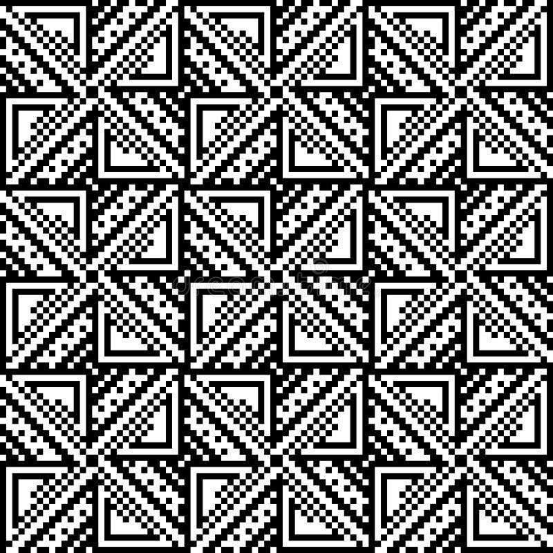 Download Modèle Sans Couture Des Places Et Des Triangles Illustration de Vecteur - Illustration du réseau, contexte: 77159560