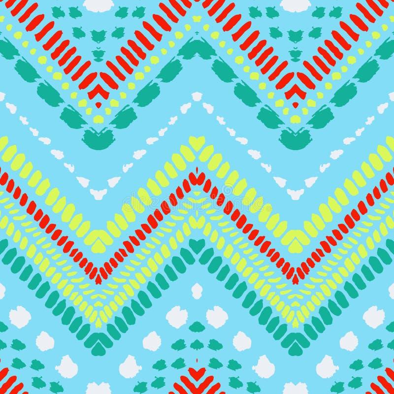 Modèle sans couture ethnique tribal illustration de vecteur