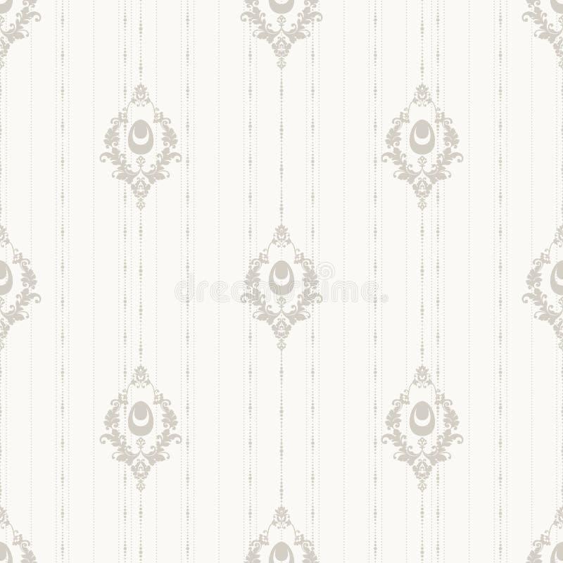 Modèle sans couture fleuri simple de Pâques de vintage illustration libre de droits