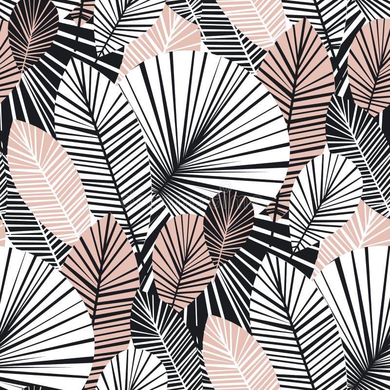 Modèle sans couture floral élégant de couleur tendre illustration libre de droits