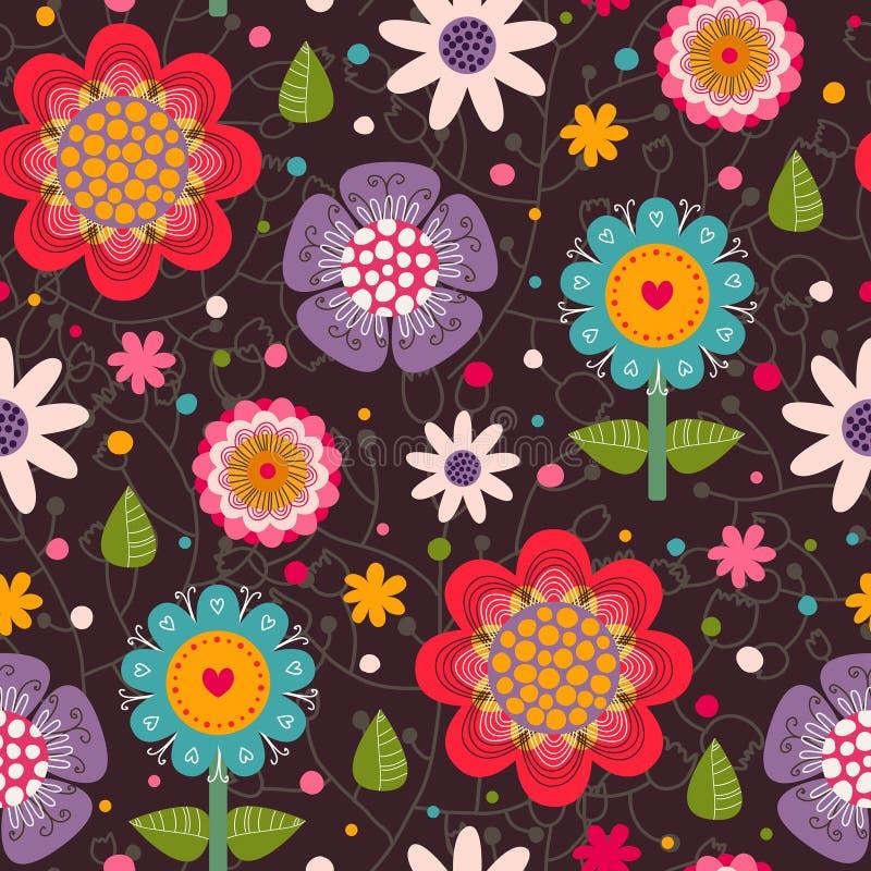 Modèle sans couture floral. illustration libre de droits