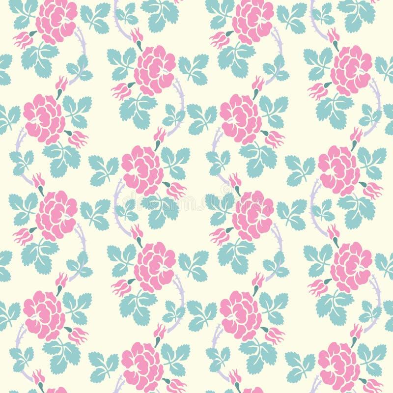 Modèle sans couture floral moderne pour votre conception Vecteur Fond illustration de vecteur