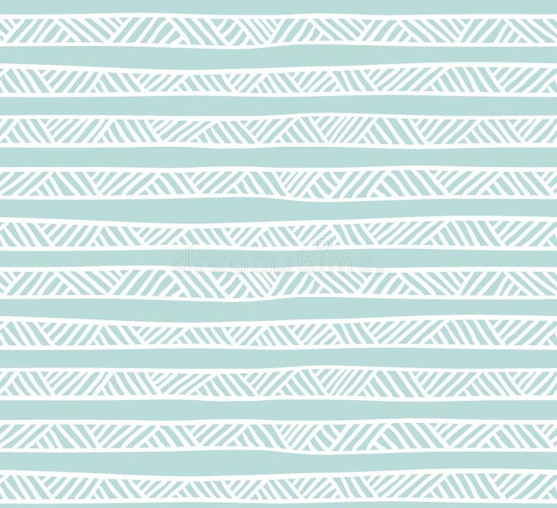 Modèle sans couture géométrique abstrait dans des couleurs en pastel illustration stock