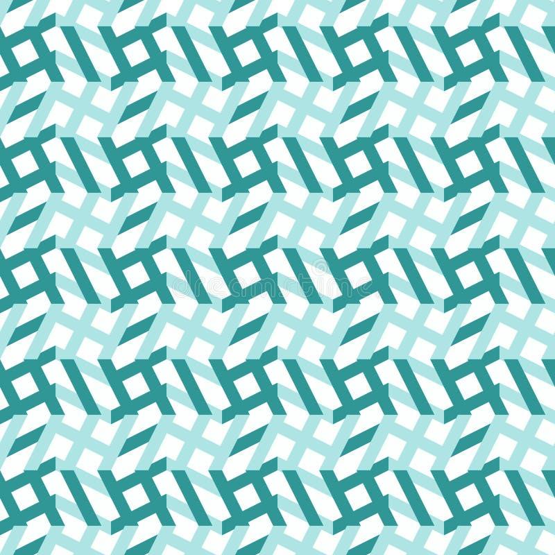 Modèle sans couture géométrique angulaire illustration de vecteur