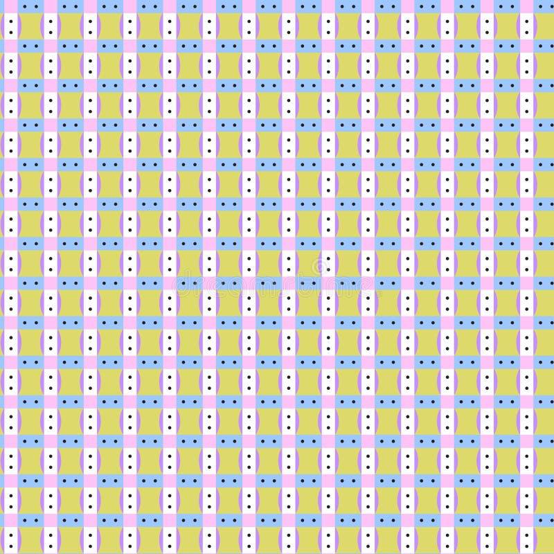 Modèle sans couture géométrique coloré photographie stock libre de droits