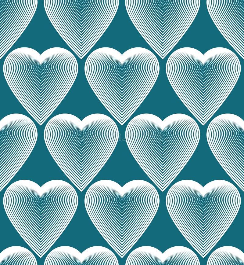 Modèle sans couture géométrique d'abrégé sur coloré vecteur, beau r illustration stock